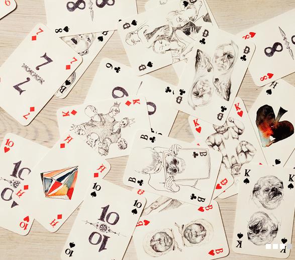 Ausgefallenes Kartenspiel gesucht  zu kaufen oder verschenken?  Die