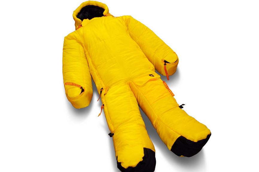 musucbag schlafsack anzug mit armen und beinen die. Black Bedroom Furniture Sets. Home Design Ideas